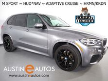 BMW X5 sDrive35i *M SPORT PKG, HEADS-UP DISPLAY, SAFETY ALERTS, ADAPTIVE CRUISE, 360 CAMERAS, NAVIGATION, PANORAMA MOONROOF, LEATHER, HEATED SEATS, HARMAN KARDON, APPLE CARPLAY 2018