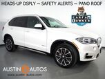 2018 BMW X5 sDrive35i *XLINE, HEADS-UP DISPLAY, NAVIGATION, BLIND SPOT ALERT, TOP/SIDE/REAR CAMERAS, PANORAMA MOONROOF, MULTI-CONTOUR HEATED SEATS, BLUETOOTH