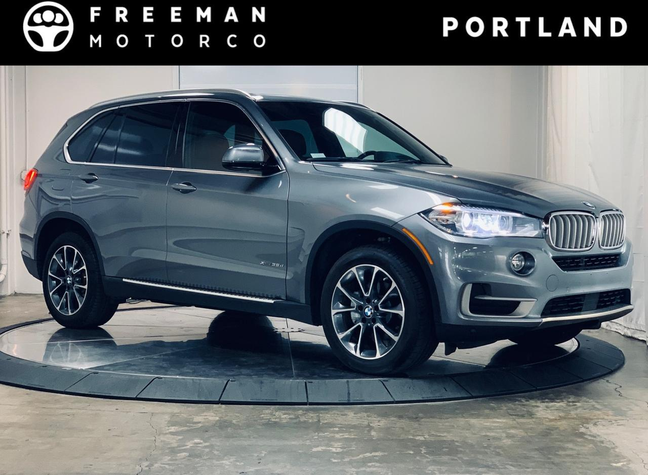 2018 BMW X5 xDrive35d Heated & Cooled Front Seats Heads Up Display Portland OR