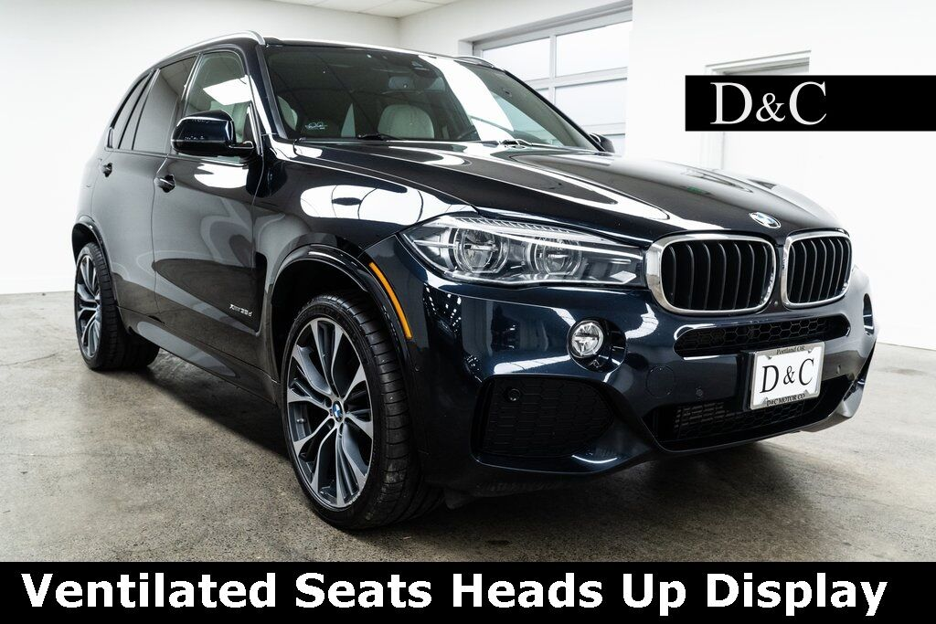 2018 BMW X5 xDrive35d M Sport Ventilated Seats Heads Up Display Portland OR