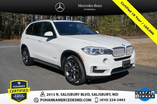 2018_BMW_X5_xDrive35i AWD/NAVI ** Pohanka Certified 10 year / 100,000 **_ Salisbury MD