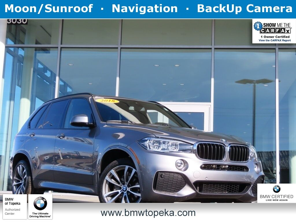 2018 BMW X5 xDrive35i Topeka KS