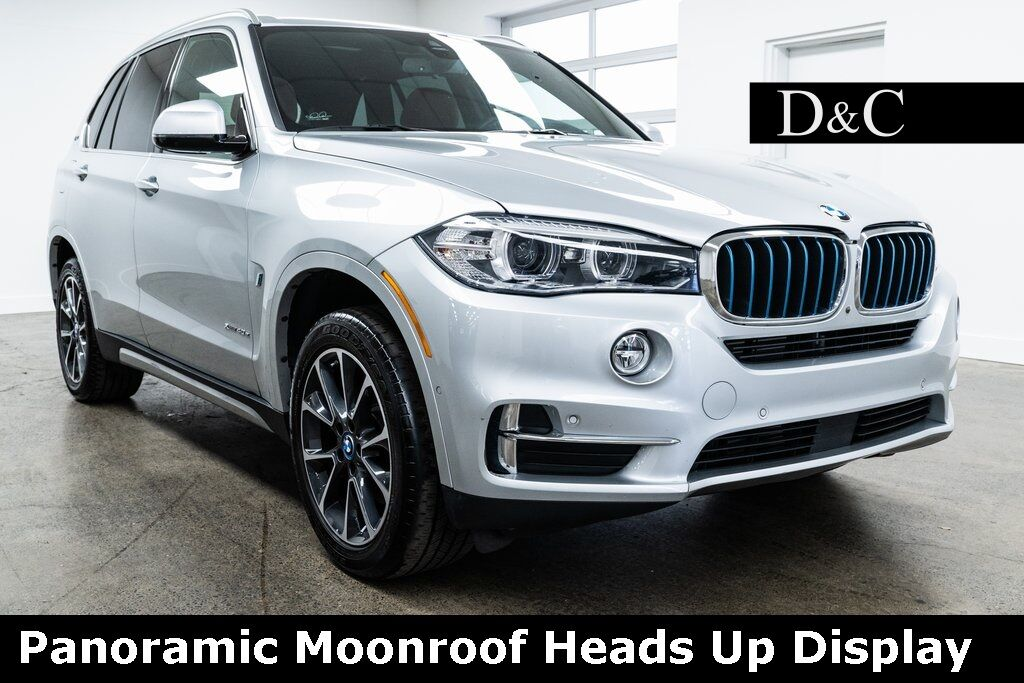 2018 BMW X5 xDrive40e Panoramic Moonroof Heads Up Display Portland OR
