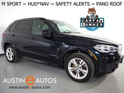 2018_BMW_X5 xDrive40e iPerformance AWD_*M SPORT PKG, HEADS-UP DISPLAY, NAVIGATION, BLIND SPORT ALERT, DRIVING ASSISTANT, SIDE/TOP/REAR CAMERAS, PANORAMA MOONROOF, DAKOTA LEATHER, HEATED SEATS/STEERING WHEEL_ Round Rock TX