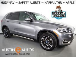 2018_BMW_X5 xDrive40e iPerformance AWD_*XLINE, MOCHA INTERIOR DESIGN PKG, HEADS-UP DISPLAY, NAVIGATION, SAFETY ALERTS, BACKUP-CAM, ADAPTIVE CRUISE, PANORAMA MOONROOF, NAPPA LEATHER, HARMAN/KARDON, APPLE CARPLAY_ Round Rock TX