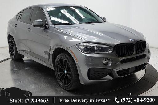 2018_BMW_X6_xDrive35i M SPORT,DRVR ASST+,NAV,CAM,SUNROOF_ Plano TX