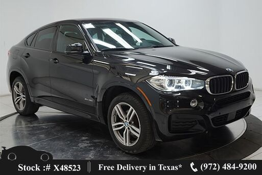 2018_BMW_X6_xDrive35i M SPORT,DRVR AST+,NAV,CAM,SUNROF,HTD STS_ Plano TX