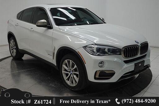 2018_BMW_X6_xDrive35i NAV,CAM,SUNROOF,HTD STS,PARK AST,HEAD-UP_ Plano TX