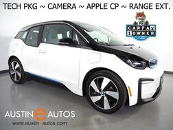 2018_BMW_i3 Deka World w/Range Extender_*NAVIGATION, DRIVING ASSISTANT, ADAPTIVE CRUISE, BACKUP-CAMERA, COMFORT ACCESS, HEATED SEATS, BLUETOOTH PHONE & AUDIO, APPLE CARPLAY_ Round Rock TX