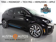 BMW i3 Tera World (94 Ah) *MOONROOF, NAVIGATION, DRIVING ASSISTANT, ADAPTIVE CRUISE, BACKUP-CAMERA, LEATHER, HEATED SEATS, HARMAN/KARDON, APPLE CARPLAY 2018