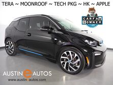 BMW i3 Tera World w/Range Extender *MOONROOF, NAVIGATION, DRIVING ASSISTANT, ADAPTIVE CRUISE, LEATHER, BACKUP-CAMERA, HEATED SEATS, HARMAN/KARDON, APPLE CARPLAY 2018
