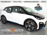2018 BMW i3 s Deka World w/Range Extender *MOONROOF, NAVIGATION, DRIVING ASSISTANT, ADAPTIVE CRUISE, BACKUP-CAMERA, COMFORT ACCESS, HEATED SEATS, HARMAN/KARDON, APPLE CARPLAY