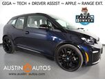 2018 BMW i3 s Giga World w/Range Extender *NAVIGATION, DRIVING ASSISTANT, ADAPTIVE CRUISE, BACKUP-CAMERA, PARK DISTANCE CONTROL, COMFORT ACCESS, HEATED SEATS, BLUETOOTH AUDIO, APPLE CARPLAY