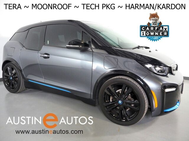 2018 BMW i3 s Tera World w/Range Extender *MOONROOF, NAVIGATION, DRIVING ASSISTANT, ADAPTIVE CRUISE, BACKUP-CAMERA, LEATHER, HEATED SEATS, HARMAN/KARDON, 20 INCH WHEELS, APPLE CARPLAY Round Rock TX