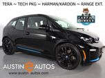 2018 BMW i3 s Tera World w/Range Extender *NAVIGATION, DRIVING ASSISTANT, ADAPTIVE CRUISE, LEATHER, BACKUP-CAMERA, HEATED SEATS, HARMAN/KARDON, 20 INCH WHEELS