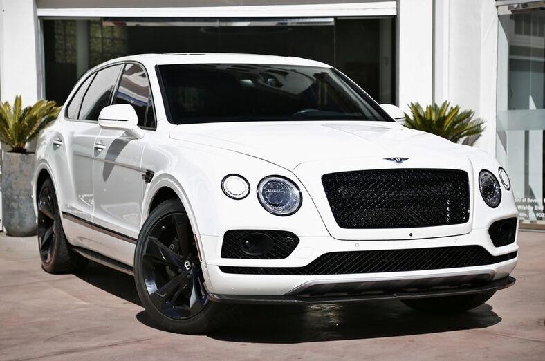 2018 Bentley Bentayga W12  Beverly Hills CA