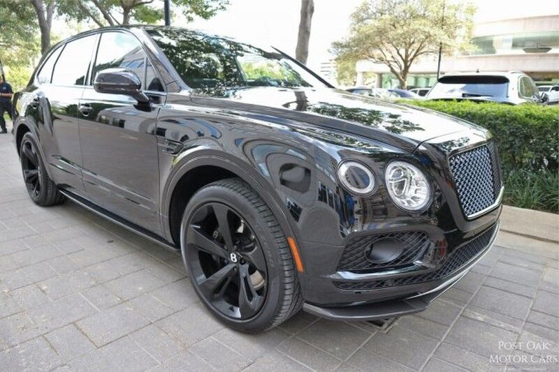 2018 Bentley Bentayga W12 Black Edition W12