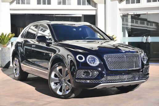 2018 Bentley Bentayga W12 Mulliner Edition  Beverly Hills CA