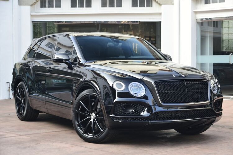 Aston Martin Offers >> 2018 Bentley Bentayga W12 Onyx Edition with Mansory Beverly Hills CA 20128153