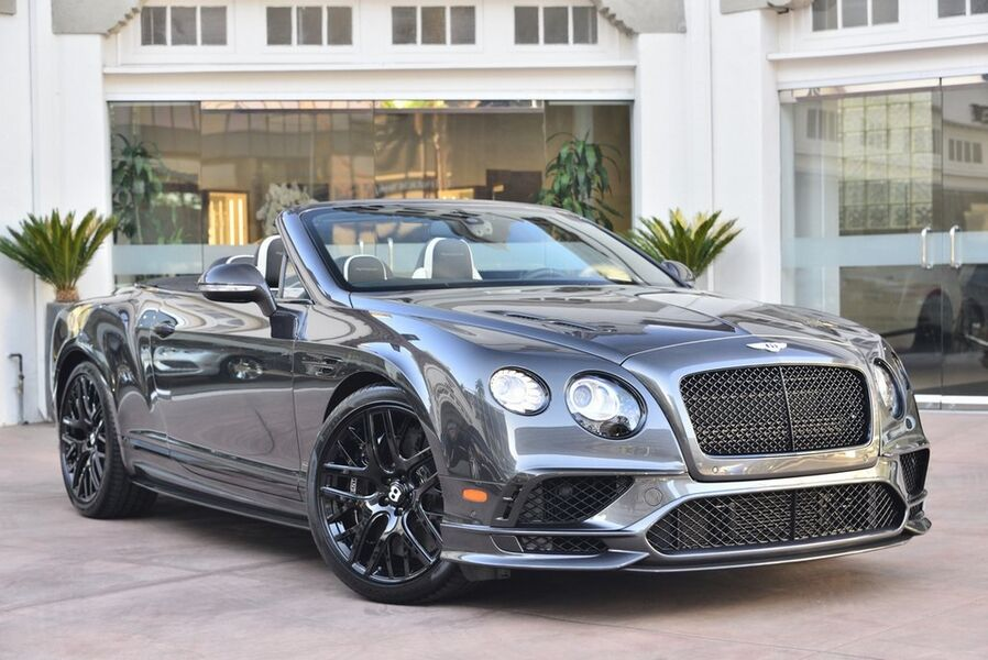2018_Bentley_Continental GT Convertible Supersports__ Beverly Hills CA