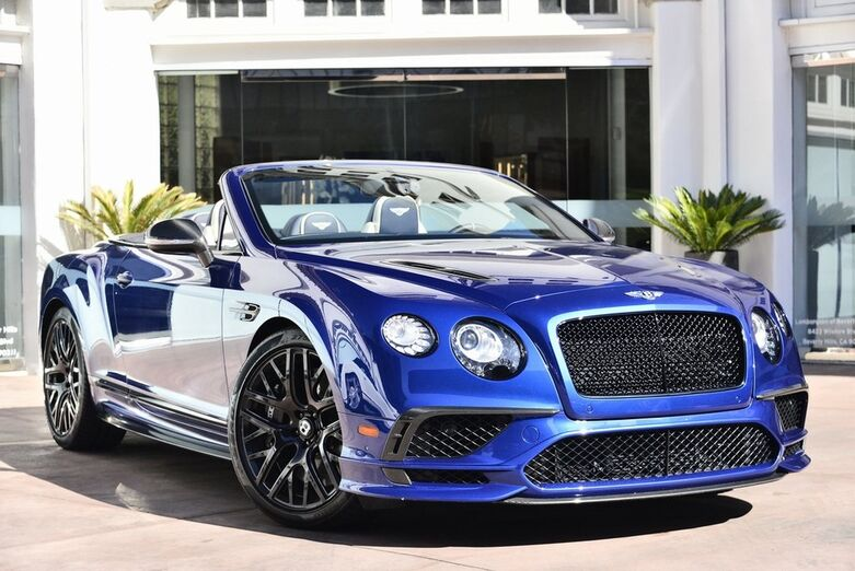 2018 Bentley Continental Supersports Convertible  Beverly Hills CA