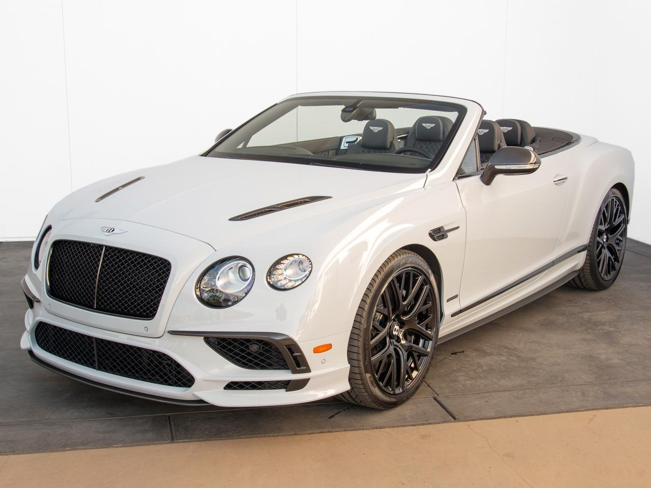 2018 Bentley Continental Gt Supersports Convertible Stock B1384