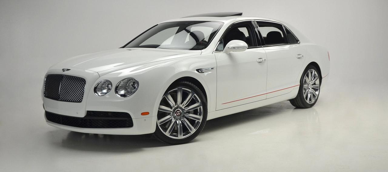 2018 Bentley Flying Spur V8 'Design Series' Red Pack St. Louis MO