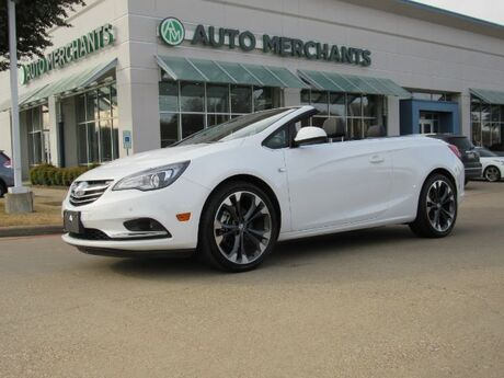 2018 Buick Cascada Premium, LEATHERETTE INTERIOR, BACK-UP CAMERA, BLUETOOTH CONNECTION, HEATED SEATS Plano TX