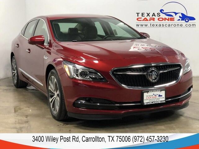 2018 Buick LaCrosse ESSENCE NAVIGATION BLIND SPOT ASSIST BOSE SOUND LEATHER HEATED S Carrollton TX