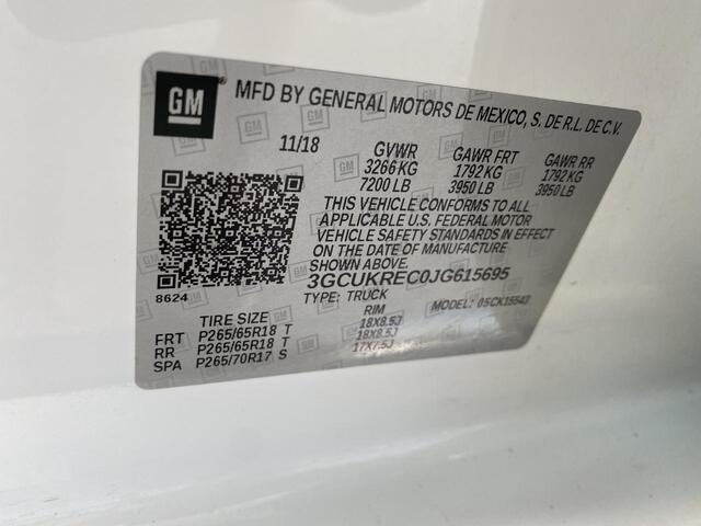 2018 CHEVROLET SILVERADO 1500 CREW CAB 4X4 LT Bridgeport WV