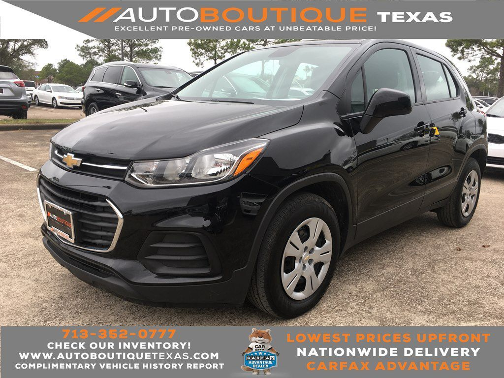 2018 CHEVROLET TRAX LS LS Houston TX