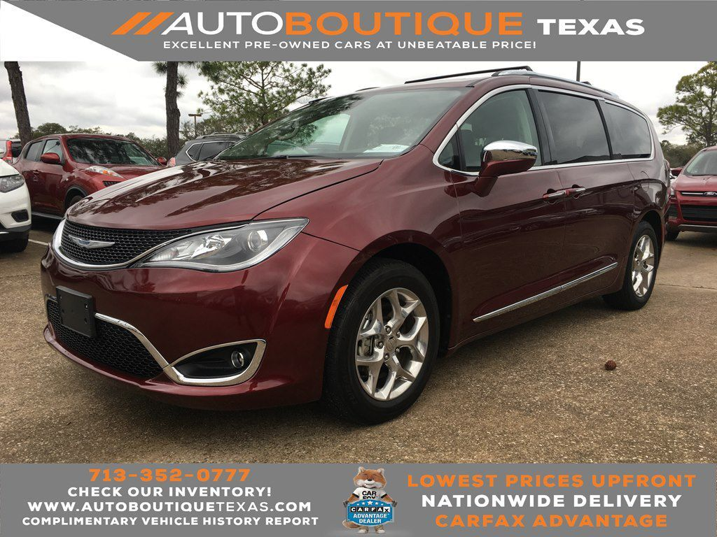 2018 CHRYSLER PACIFICA LIMITE LIMITED