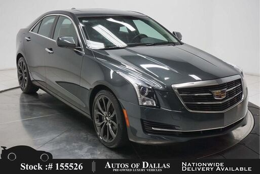 2018_Cadillac_ATS_2.0L Turbo CAM,SUNROOF,HTD STS,18IN WHLS_ Plano TX