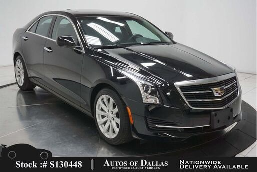 2018_Cadillac_ATS_2.0L Turbo CAM,SUNROOF,HTD STS,KEY-GO,17IN WLS_ Plano TX