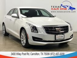 2018_Cadillac_ATS_AWD SUNROOF LEATHER HEATED SEATS REAR CAMERA KEYLESS START BLUET_ Carrollton TX