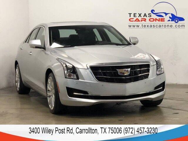 2018 Cadillac ATS LUXURY AWD DRIVER AWARNESS PKG BLIND ZONE ASSIST NAVIGATION SUNR Carrollton TX
