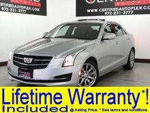 2018_Cadillac_ATS Sedan_LUXURY SUNROOF NAVIGATION REAR CAMERA PARK ASSIST APPLE CARPLAY ANDROID AUT_ Carrollton TX