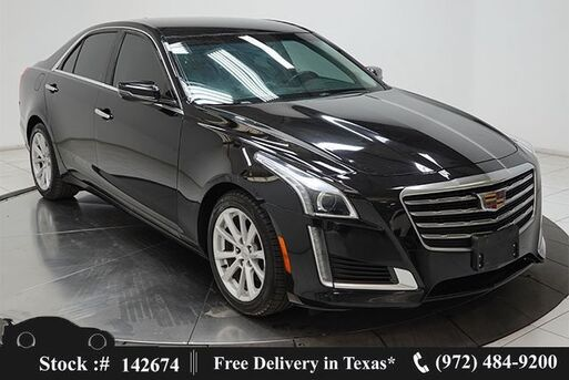 2018_Cadillac_CTS_2.0L Turbo NAV,CAM,CLMT STS,PARK ASST,18IN WHLS_ Plano TX
