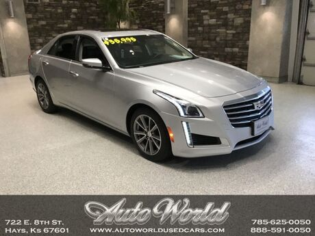 2018 Cadillac CTS LUXURY AWD  Hays KS