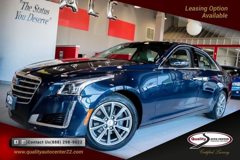 2018 Cadillac CTS Sedan Luxury AWD Navigation 1 Owner Springfield NJ