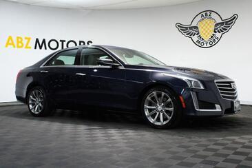 2018_Cadillac_CTS Sedan_Luxury RWD Pano,Navigation,Camera,Blind Spot,AC/Heated Seats_ Houston TX