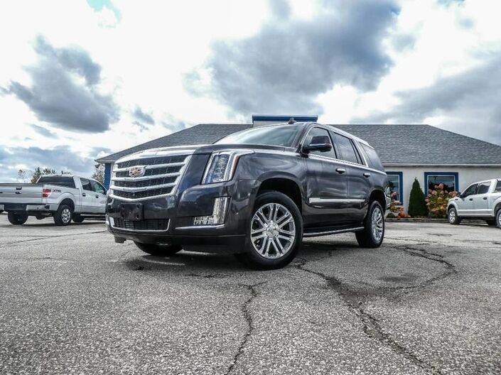 2018 Cadillac Escalade - LOADED- LEATHER- NAVIGATION- 360 CAMERA- HEATED SEATS Essex ON