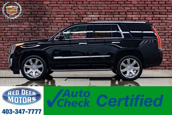 2018_Cadillac_Escalade_AWD Luxury Leather Roof Nav BCam_ Red Deer AB