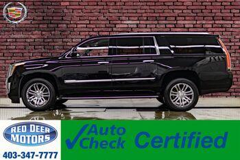 2018_Cadillac_Escalade ESV_AWD Luxury Edition Leather Nav BCam_ Red Deer AB