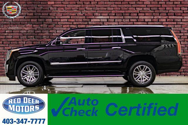 2018 Cadillac Escalade ESV AWD Luxury Edition Leather Nav BCam Red Deer AB
