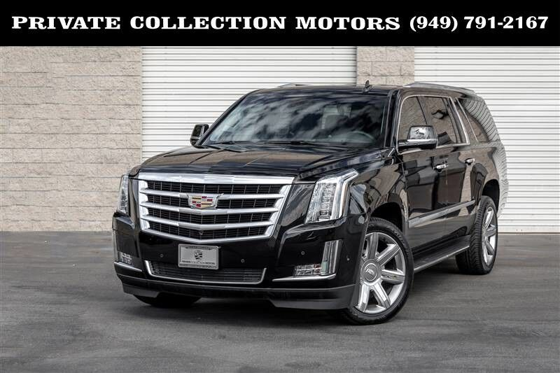2018 Cadillac Escalade ESV Luxury One Owner California Car Costa Mesa CA