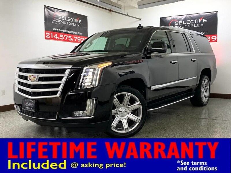 2018 Cadillac Escalade ESV Luxury RWD, NAV, HEATED/COOLED FRONT SEATS, HEADS UP DISPLAY