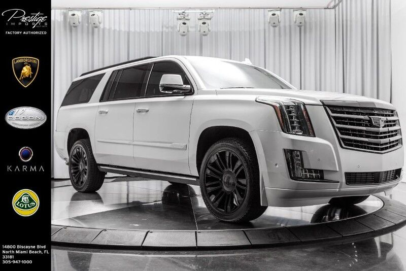 2018_Cadillac_Escalade ESV_Platinum_ North Miami Beach FL