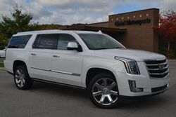 Cadillac Escalade ESV Premium Luxury/4X4/Local Trade/Low Miles/Like New/$94,965 MSRP/Blind Spot Monitor/Lane Departure Warning/Middle Row Captains/Dual DVD/Pwr Fold 3rd Row/Pwr Running Boards/Head Up Disp/LOADED 2018