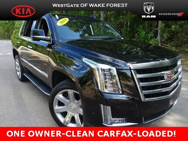 2018 Cadillac Escalade Luxury Raleigh NC